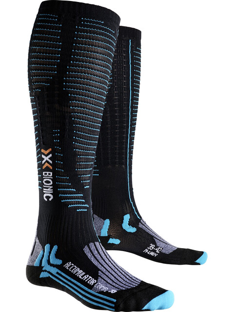 X-Bionic Effektor Competition Long Socks Women Black/Turquoise